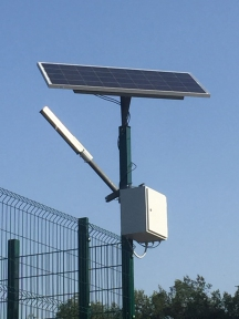 Автономный уличный LED фонарь 30Вт Solar AМ1 без столба